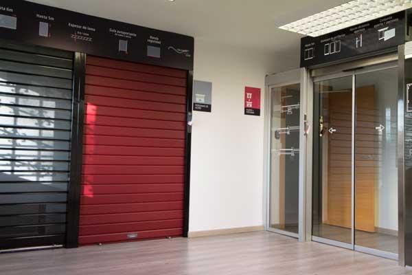 Exposición puertas automáticas