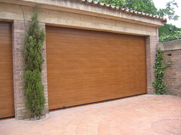 Puertas enrollables garaje