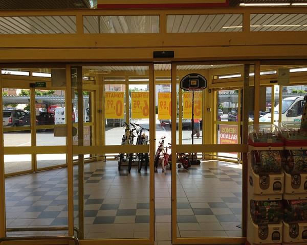 Puerta peatonal CompactSlim
