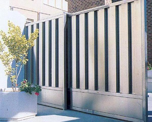 Puertas correderas de garaje en zaragoza