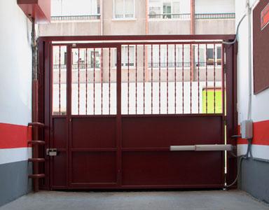 Puertas de garaje cancelas