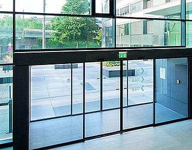 Puertas automáticas de cristal correderas