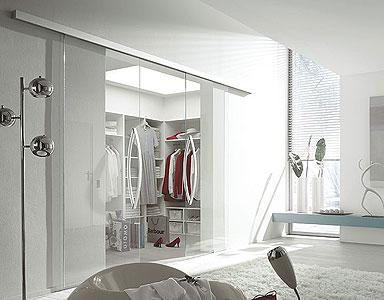 Puertas automáticas de cristal interiores