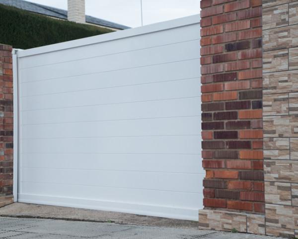 Puerta garaje elegante