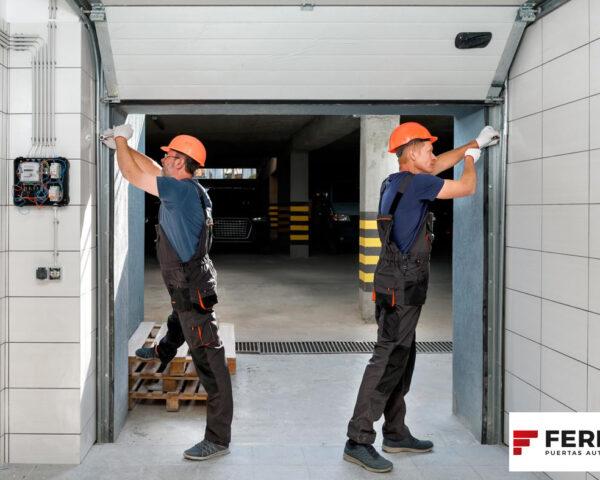 Normativa para puertas automáticas actualizada