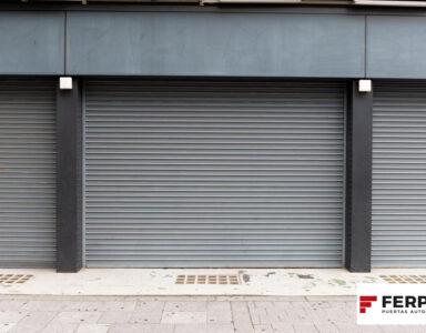 Cómo deben ser las persianas de seguridad para locales comerciales
